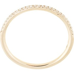 Natalie Marie 14kt yellow gold Queenie half diamond ring found on Bargain Bro India from FarFetch.com - US for $1042.00
