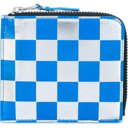 Comme Des Garçons Wallet checked wallet - Blue found on MODAPINS from FarFetch.com- UK for USD $175.19