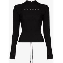 Ambush Womens Black Scuba Top found on MODAPINS from Browns Fashion for USD $500.99