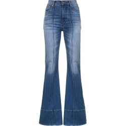 Amapô high waisted flared jeans - Blue found on MODAPINS from FarFetch.com- UK for USD $208.95