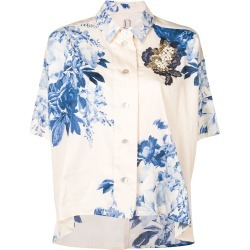 Antonio Marras floral print shortsleeved shirt - Neutrals found on MODAPINS from FarFetch.com- UK for USD $932.93