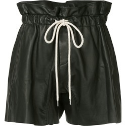 Bassike ruffle high waist shorts - Black found on MODAPINS from FARFETCH.COM Australia for USD $962.20