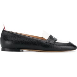 Thom Browne Pebbled Leather Penny Loafers - Black found on Bargain Bro UK from FarFetch.com- UK