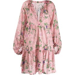 Anjuna floral smock dress - Pink found on MODAPINS from FARFETCH.COM Australia for USD $401.37
