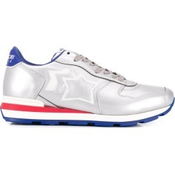 Atlantic Stars metallic lace-up sneakers - Silver found on MODAPINS from FarFetch.com - US for USD $203.00