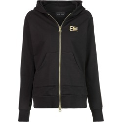 Baja East embroidered zip hoodie - Black found on MODAPINS from FARFETCH.COM Australia for USD $732.78