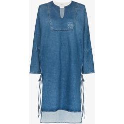 Loewe Womens Blue Washed Denim Tunic Dress found on Bargain Bro UK from Browns Fashion