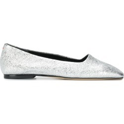 Aeyde Beau ballerina shoes - Silver found on MODAPINS from FARFETCH.COM Australia for USD $164.29