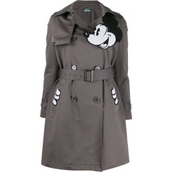 Benetton Mickey print trench coat - Grey found on Bargain Bro Philippines from FarFetch.com - US for $527.00