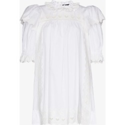 The Marc Jacobs Womens White Victorian Smock Dress found on Bargain Bro UK from Browns Fashion