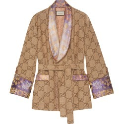 Gucci GG linen jacket - Brown found on MODAPINS from FARFETCH.COM Australia for USD $4920.47