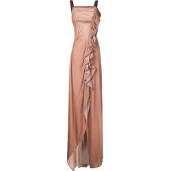 Bianca Spender Velvet Wonderland gown - Neutrals found on MODAPINS from FarFetch.com - US for USD $179.00