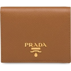 Prada Small Saffiano leather wallet - Brown found on Bargain Bro Philippines from FarFetch.com - US for $420.00
