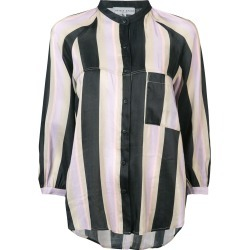 Apiece Apart striped cropped sleeve blouse - Pink found on MODAPINS from FarFetch.com- UK for USD $214.01