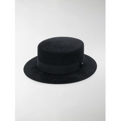 Saint Laurent wide brim hat found on Bargain Bro from stefania mode for USD $680.20