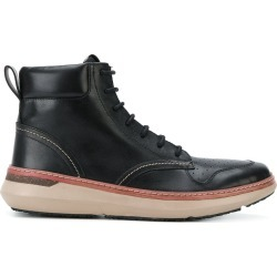 Armani Jeans lace-up ankle boots - Black found on MODAPINS from FarFetch.com- UK for USD $208.95