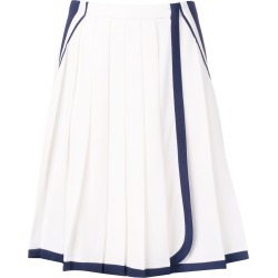Prada two tone pleated skirt - White found on MODAPINS from FarFetch.com - US for USD $2050.00