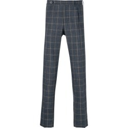 Berwich checked tailored trousers - Blue found on MODAPINS from FarFetch.com - US for USD $242.00