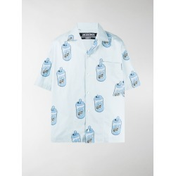 Jacquemus can-print shirt found on Bargain Bro UK from MODES GLOBAL