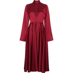 Beaufille Flared Sleeved Midi Dress found on MODAPINS from FarFetch.com- UK for USD $441.29