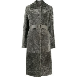 Drome belted shearling coat found on MODAPINS from Eraldo for USD $2780.92
