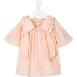 Chloé Kids ruffled smock blouse - Pink found on Bargain Bro UK from FarFetch.com- UK