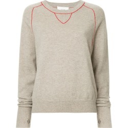 Bassike contrast stitch jumper - Brown found on MODAPINS from FarFetch.com - US for USD $450.00