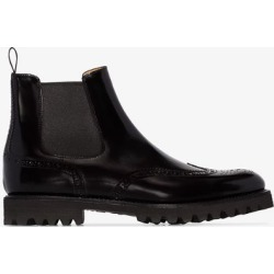 Church's black Charlize leather Chelsea boots found on Bargain Bro UK from Browns Fashion