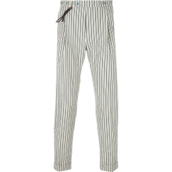 Berwich striped tapered trousers - Neutrals found on MODAPINS from FarFetch.com- UK for USD $201.28