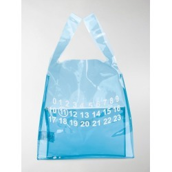 Maison Margiela printed detail clear bag found on Bargain Bro UK from MODES GLOBAL