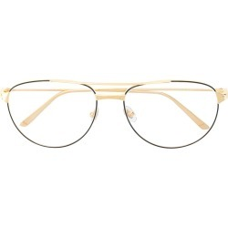 ede4b13a8e7 Cartier double bridge aviator glasses - Metallic found on MODAPINS from  FarFetch.com - US