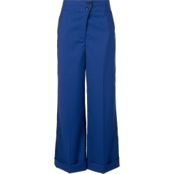 Nehera high waisted wide leg trousers - Blue found on Bargain Bro Philippines from FarFetch.com - US for $1225.00