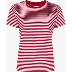 Polo Ralph Lauren Womens Red Striped T-shirt found on Bargain Bro UK from Browns Fashion