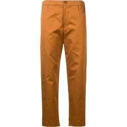Barena Dana cropped trousers - Orange found on MODAPINS from FarFetch.com - US for USD $201.00