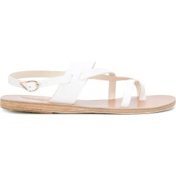 Ancient Greek Sandals Alethea flat sandals - White found on MODAPINS from FarFetch.com - US for USD $154.00