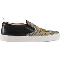 Gucci GG Supreme tiger slip-on sneaker - Neutrals found on MODAPINS from FarFetch.com - US for USD $580.00