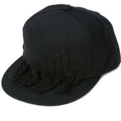 Haculla embroidered detail cap - Black found on Bargain Bro India from FARFETCH.COM Australia for $89.79