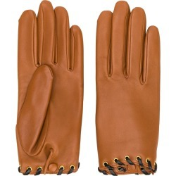 Agnelle leather gloves - Brown found on MODAPINS from FarFetch.com- UK for USD $164.99