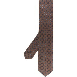 Barba floral pattern tie - Brown found on MODAPINS from FarFetch.com- UK for USD $104.48