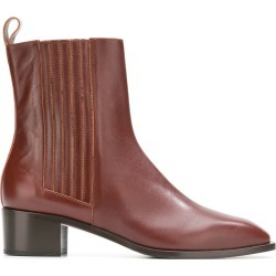 Aeyde classic booties - Brown found on MODAPINS from FarFetch.com- UK for USD $347.08