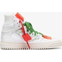 Off-white Womens White Off Court 3.0 Leather Sneakers found on Bargain Bro UK from Browns Fashion