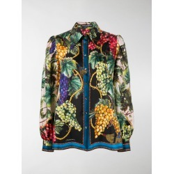 Dolce & Gabbana Autumn print buttoned shirt found on Bargain Bro UK from MODES GLOBAL