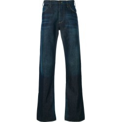 Armani Jeans distressed stitch detail jeans - Blue found on MODAPINS from FarFetch.com- UK for USD $188.06
