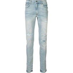 Amiri distressed skinny jeans - Blue found on MODAPINS from FARFETCH.COM Australia for USD $1465.29