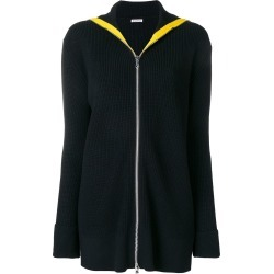 Barena zip front cardigan - Black found on MODAPINS from FARFETCH.COM Australia for USD $478.82