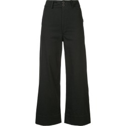 Apiece Apart flared cropped trousers - Black found on MODAPINS from FarFetch.com - US for USD $177.00