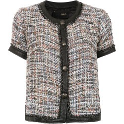 Andrea Bogosian tweed short sleeved top - Multicolour found on MODAPINS from FarFetch.com - US for USD $356.00