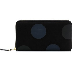 Comme Des Garçons Wallet rectangular Dot wallet - Black found on Bargain Bro UK from FarFetch.com- UK