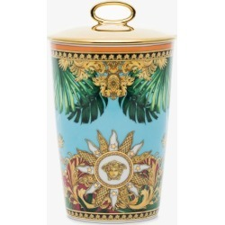 Versace Womens Blue Jungle Porcelain Scented Candle found on Bargain Bro UK from Browns Fashion