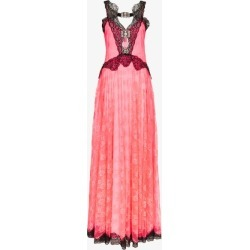 Christopher Kane Womens Pink Neon Lace Maxi Dress found on MODAPINS from Browns Fashion for USD $2211.18